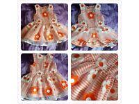 Girl dress 9-12 months