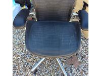Aeron office chair. Original Herman Miller Aeron chair in pristine condition