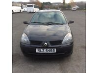 Excellent Renault Clio Campus 1.2 8v. Ideal for first-time buyer. Just 80000 miles and long mot.