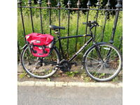"Dawes Mirage with panniers and other accessories. 21"" frame. Very good condition."