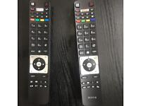 Brand new universal Tv remotes