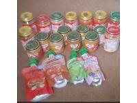 baby food jars 4m & 7m