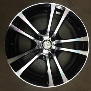 MAGS TAKE OFF 17'' 4 X 100 NOIR MACHINÉ (4 DE DISPONIBLES)