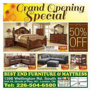 BEST FURNITURE DEALS IN LONDON!!!! HUGE DISCOUNT AND BEST PRICE GUARANTEED!!!