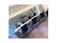 hairdresser opportunity - rent or commission based in trendy hair salon.