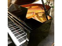STUNNING Gloss Black Petrof Mid Grand Piano With New Adjustable Stool - CAN DELIVER