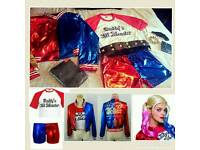 Suicide squad harley quinn complete outfit fancy dress costume