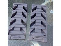 Pair of Fiamma level ramps in good condition