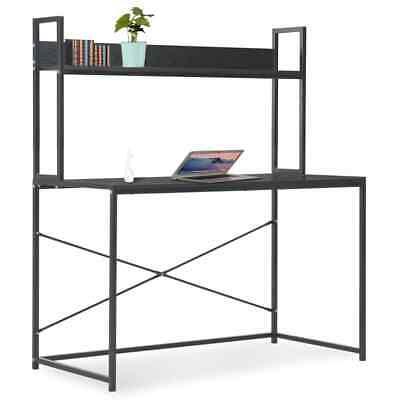 Vidaxl Computer Desk Black 47.2x23.6x54.3 Home Office Workstation Table