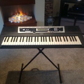 Keyboard. Yamaha full size electronic keyboard , with stand . As in new condition , only £65