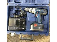 AEG 18v combi drill driver