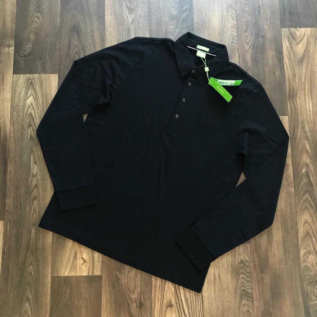 Hugo Boss Green Label Long Sleeve Polo Medium