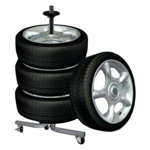 Tire Wheel Rack Storage Holder Heavy Duty Garage Trolley 275Lb - BRAND NEW - FREE SHIPPING