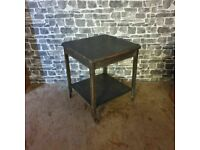 2 Tier Vintage Trolley/Side Table