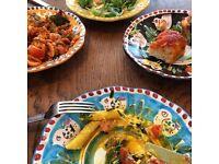 Restaurant supervisor - busy Italian Canada Water Cafe SE16 - £12 + bonus