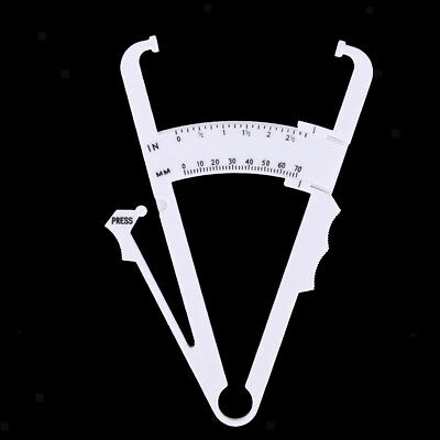 Personal Body Fat Tester Caliper Analyzer Skin Fold Measure Fitness Health