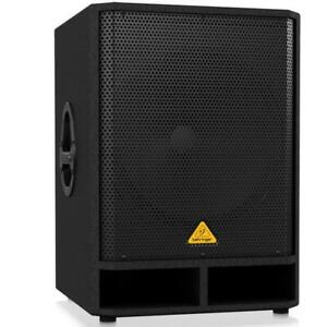 Behringer VQ1800D Powered 500-Watt 18 Subwoofer with Built-In Stereo Crossover
