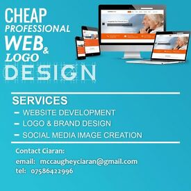 Cheap Web & Brand Design | Website Design | Graphic design | Logo Design | Video Editing |