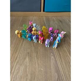 21 mini my little pony figures