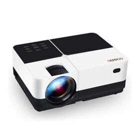 "GEARGO 2800 Lumens HD Video Projector, 185"" and 1080P Supported, ***BRAND NEW*** in Sealed Box"