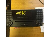 mercedes benz c class w203 saloon facelift audio cd player for sale call parts thanks