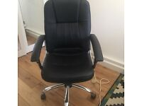 Black desk chair. Barely used. Computer chair