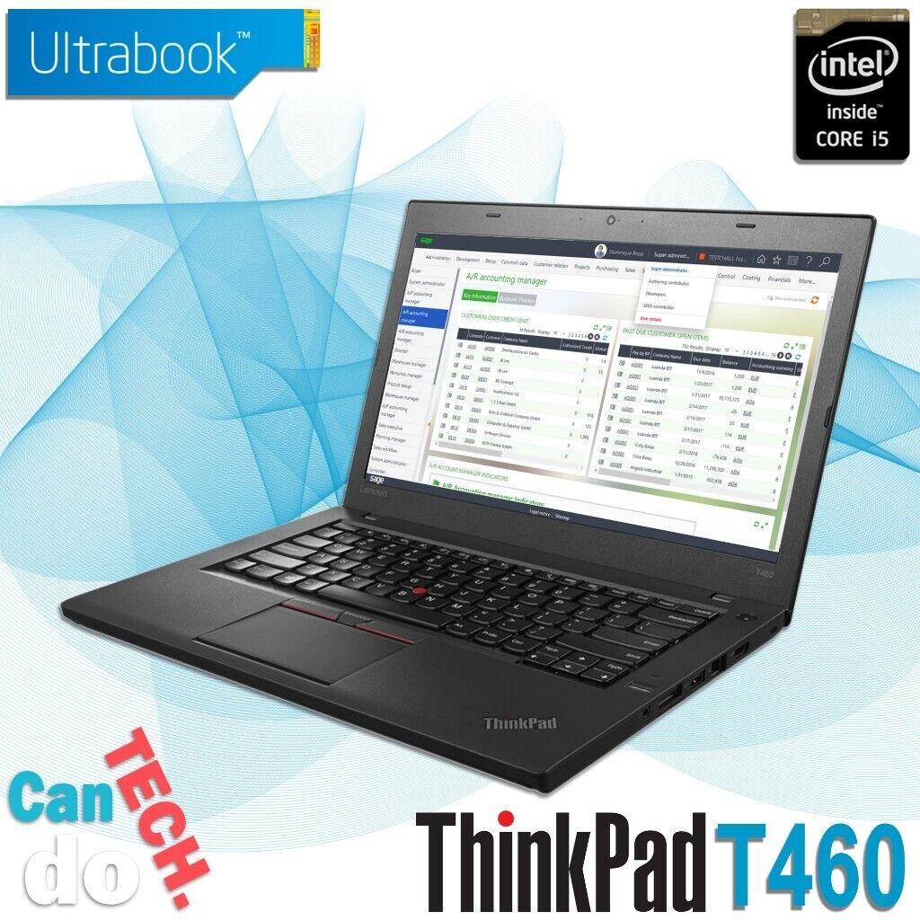 Lenovo ThinkPad Laptop T460 Core i5 6th Gen CPU 8GB Memory 250GB SSD  Backlit UK Keyboard *WARRANTY*   in Harrow, London   Gumtree