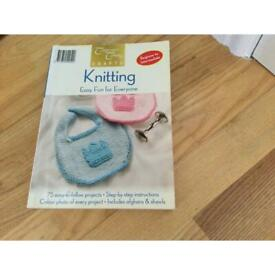 Knitting Book with 75 Easy-to-Follow Projects.