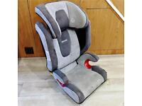 Recaro Monza Child's Car Seat in Grey with Isofix 15-36kg group 2-3