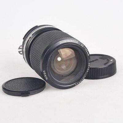 Obiettivo zoom Nikkor Nikon 35 - 105 1:3,5-4,5 manual focus vintage lens usato  Italia