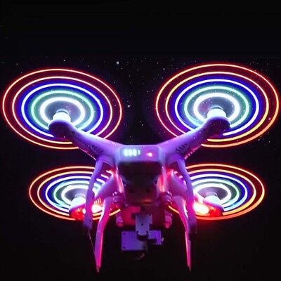 4pcs LED Flash Propeller Night Flying Blade for DJI Phantom 3 Standard Drone