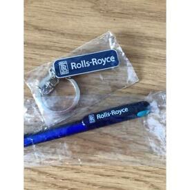 Rolls Royce key chain & Pen