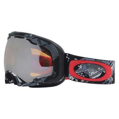 Oakley 57-033 SPLICE Shattered Grey w  Black Iridium Unisex Snow Ski  Goggles . 38121def764e
