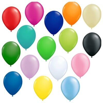 ballon farbige Latex Geburtstag rot rosa bla Helium Hochzeit (Rosa Luftballons)