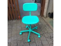 Plastic office chair for sale.