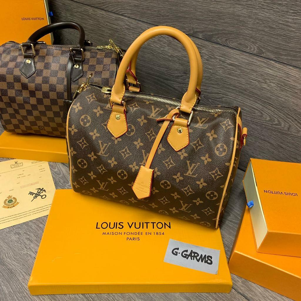 e98583546e96 Louis Vuitton Speedy 35 Womens Bag