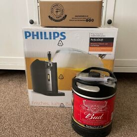 Philips Perfect Draft Dispenser Budweiser Starter Bundle ✅ New & Free Delivery ✅