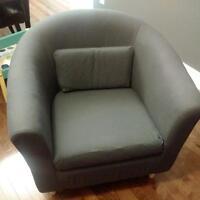 Ikea Tulsta armchair - Dark Gray