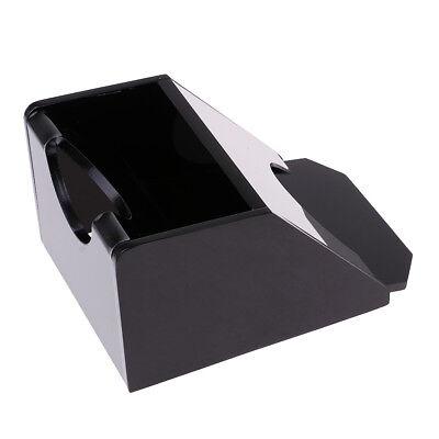 Black Acrylic One Deck Poker Blackjack Dealer Dealing Shoe Casino Equipment