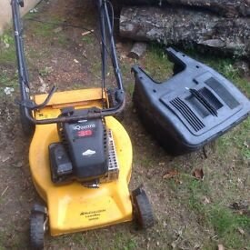Petrol Mower with box