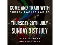 ** PLAYERS WANTED ** JOIN SURREY EAGLES 1ST AND RESERVE SQUADS