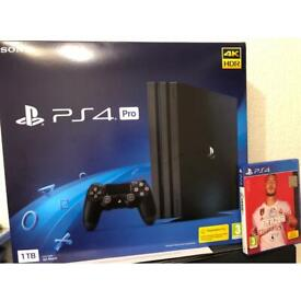 Ps4 pro 1TB + Fifa 20 only couple months old