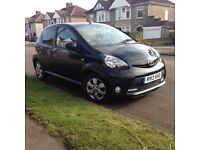 Toyota Aygo Fire 1.0 black with A/C 12 months MOT