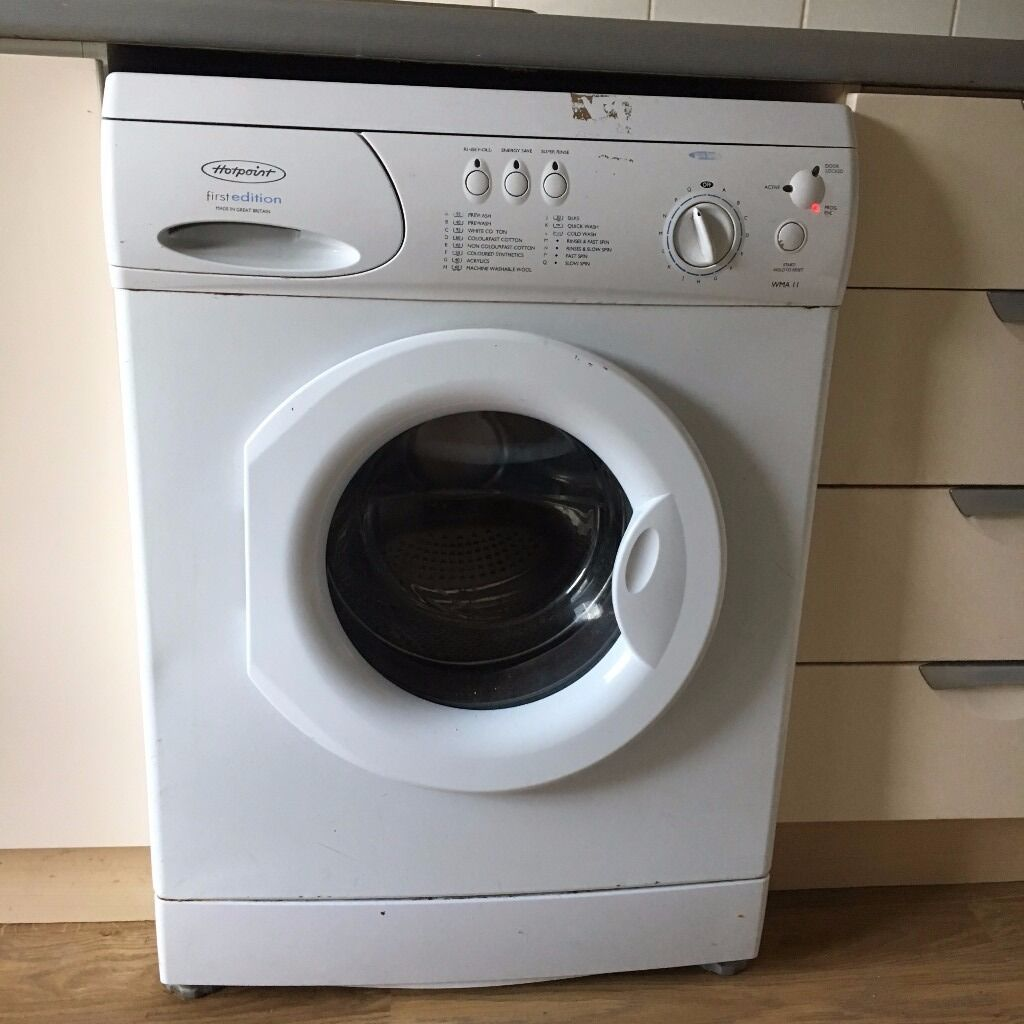 hotpoint first edition washing machine for sale in. Black Bedroom Furniture Sets. Home Design Ideas