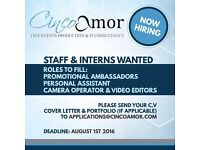 Part-Time Promotional Staff Needed