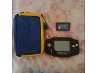 Gameboy Advance pouch game mario