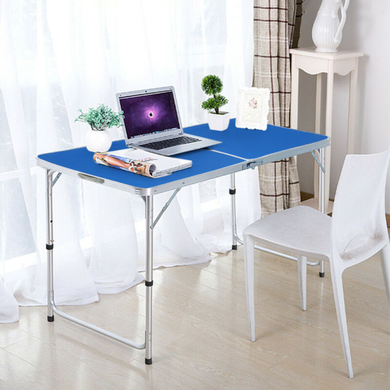 Folding Computer Desk PC Laptop Table Writing Study Workstation Office Furniture