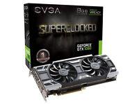 EVGA GeForce GTX 1080 SC GAMING ACX 3.0 8GB GDDR5X Grapics Card