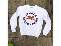 Kenzo H&M sweatshirt jumper size xs