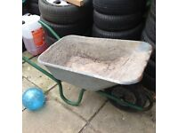 Used contractors wheelbarrow